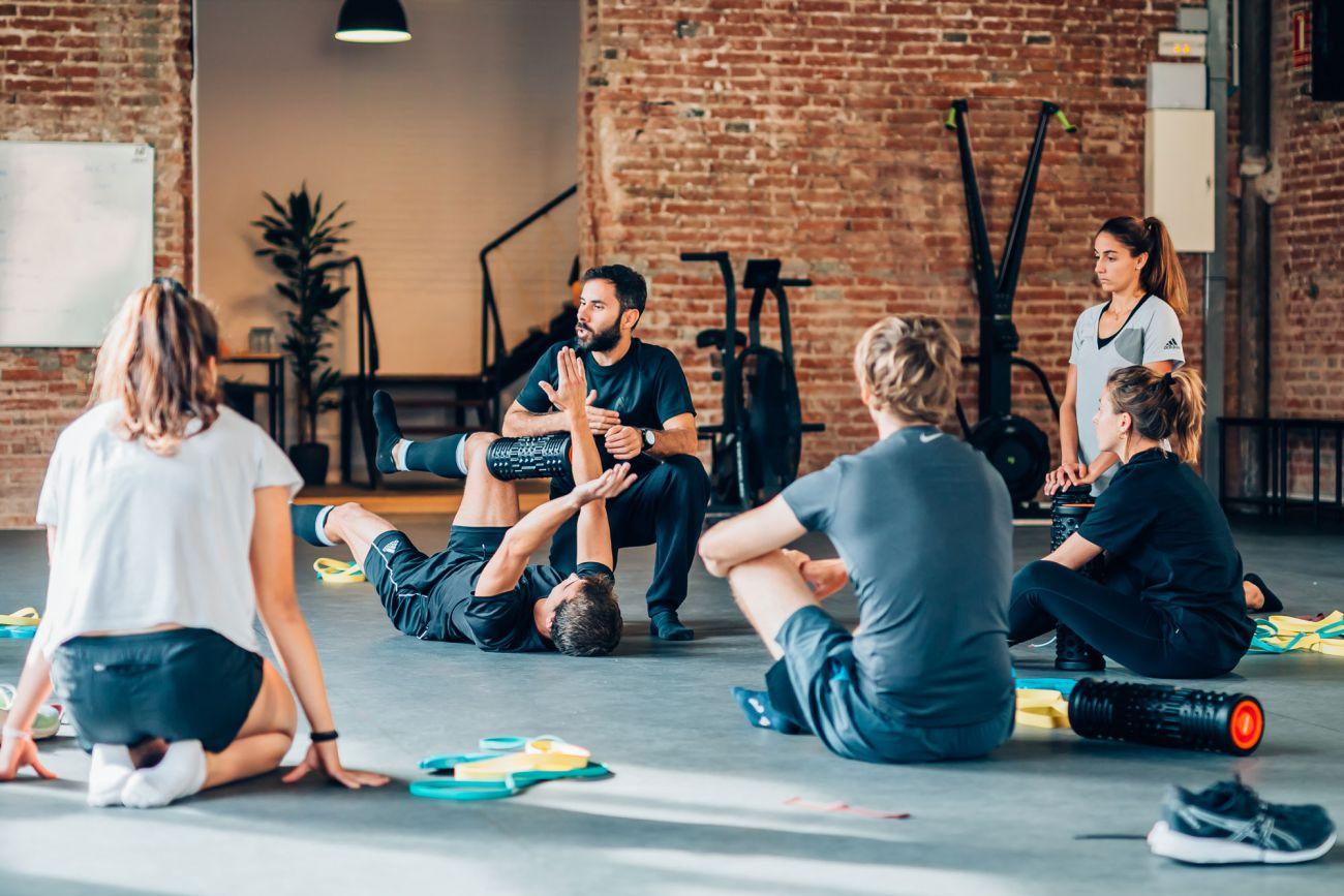 Cursos fisioteràpia entrenament